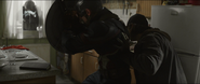 Bucky pushes Cap