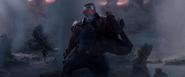 Star-Lord huyendo de Morag