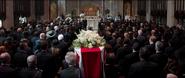 Funeral de Margaret Carter
