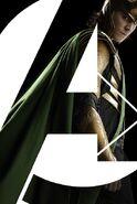 Loki Avengers poster