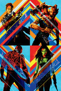 Guardians of the galaxy hi res textless poster by ihaveanawesomename-d7xy5ua