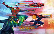 Avengers Infinity War - Mini Póster 3