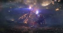 Danvers intenta someter a Thanos