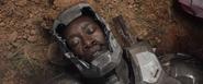 Rhodey herido tras la batalla