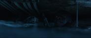 Rocket y Rhodes ahogándose