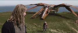 Thor es llamado por Rocket al Benatar