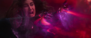 Agatha defeated by Scarlet Witch