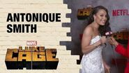 Antonique Smith on Detective Nandi Tyler's History with Misty Knight in Marvel's Luke Cage Season 2