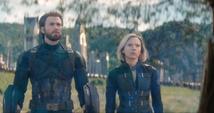 Rogers y Romanoff detrás de la barrera de Wakanda