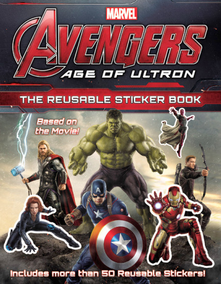 Avengers: Age of Ultron: The Reusable Sticker Book