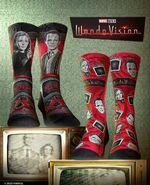 Additional WandaVision Socks Merchandise