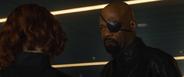 Fury habla con Romanoff