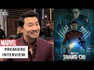 Shang-Chi and the Legend of the Ten Rings - Simu Liu (Shang-Chi) UK Premiere Interview