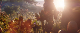 Thanos explora Titán II