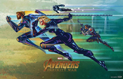 Avengers Infinity War - Mini Póster 2