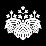 Japanese Crest Gosann Oni Kiri