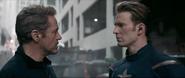 Stark y Rogers trabajando en equipo