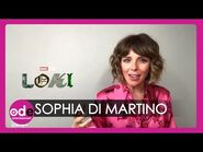 LOKI- Sophia Di Martino Reveals Tom Hiddleston's Secrets!