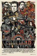 Captain America Civil War Mondo Poster 2