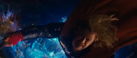 Thor tras romper Bifrost