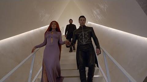 "Anson Mount, Serinda Swan and Scott Buck on ""Marvel's Inhumans"""