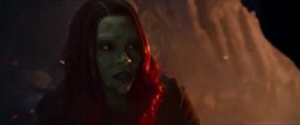 Gamora discute con Nebula tras pelear