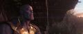 Thanos mira el amanecer de un universo agradecido