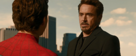 Stark discute con Peter