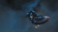 Capitan America saltando del Quinjet
