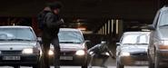 Pantera Negra persigue a Bucky
