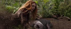 Wanda desaparece en Wakanda