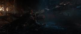 Rhodes tras la destrucción del Centro de los Nuevos Vengadores