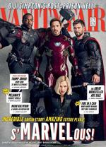 Avengers Infinity War - Portada Vanity Fair 3