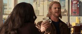 Thor pide otra taza