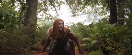 Wanda llega a un bosque de Wakanda