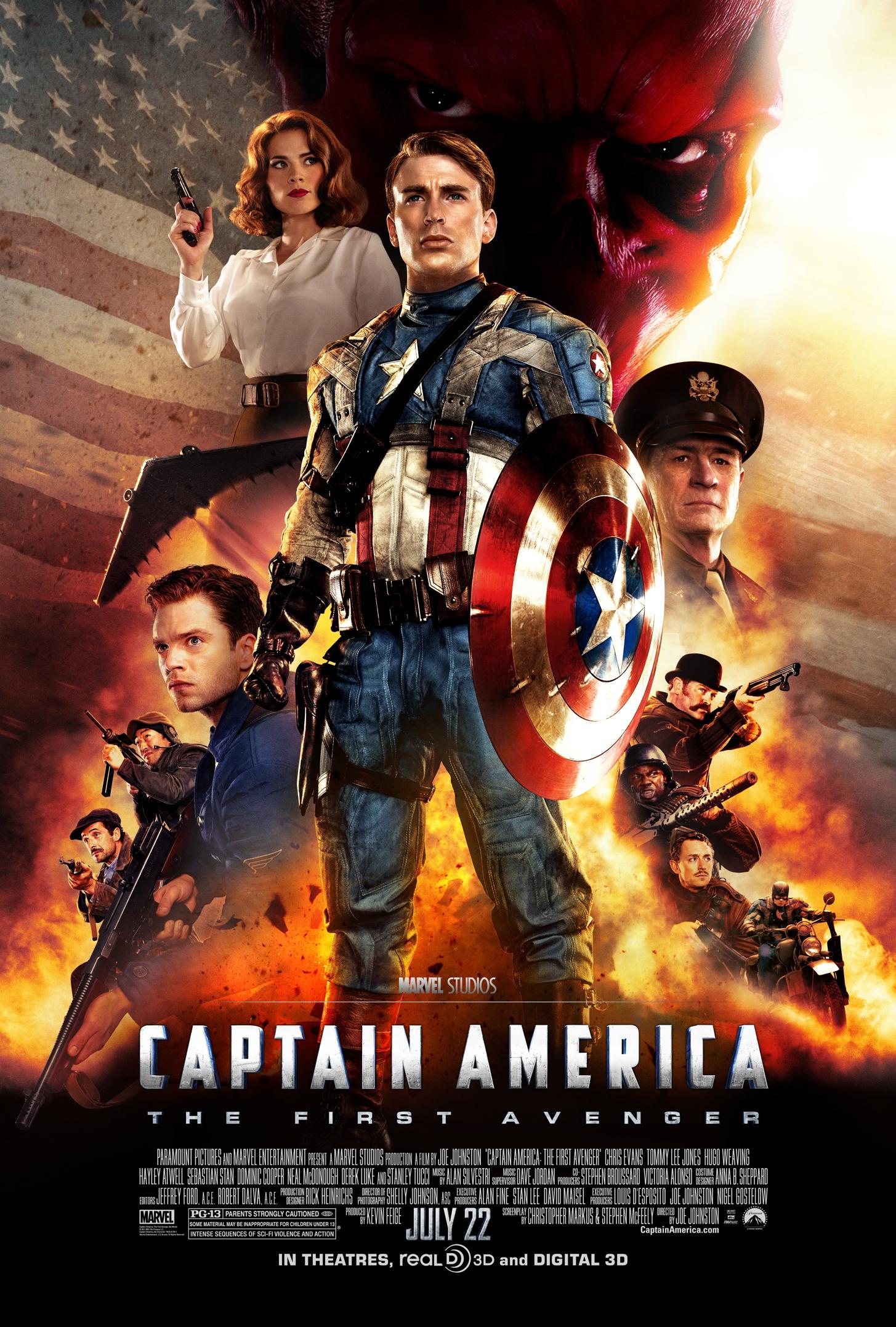 Captain America The First Avenger   Marvel Cinematic Universe ...