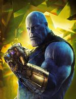 AIW Empire - Póster de Thanos sin texto