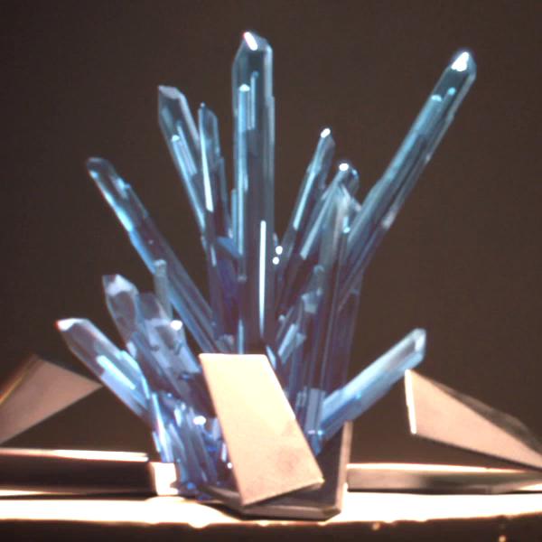 Cristales terrígenos