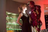 Stark y Pepper en su fiesta de cumpleaños