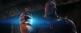 Thanos rompe el cubo