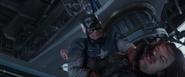 Cap breaks Bucky's arm