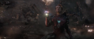 Iron Man with the stones