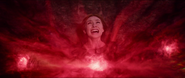Wanda unleashing Chaos Magic
