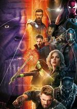 Avengers InfinityWar - Póster promocional