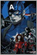 Civil War Mondo Poster Team Cap