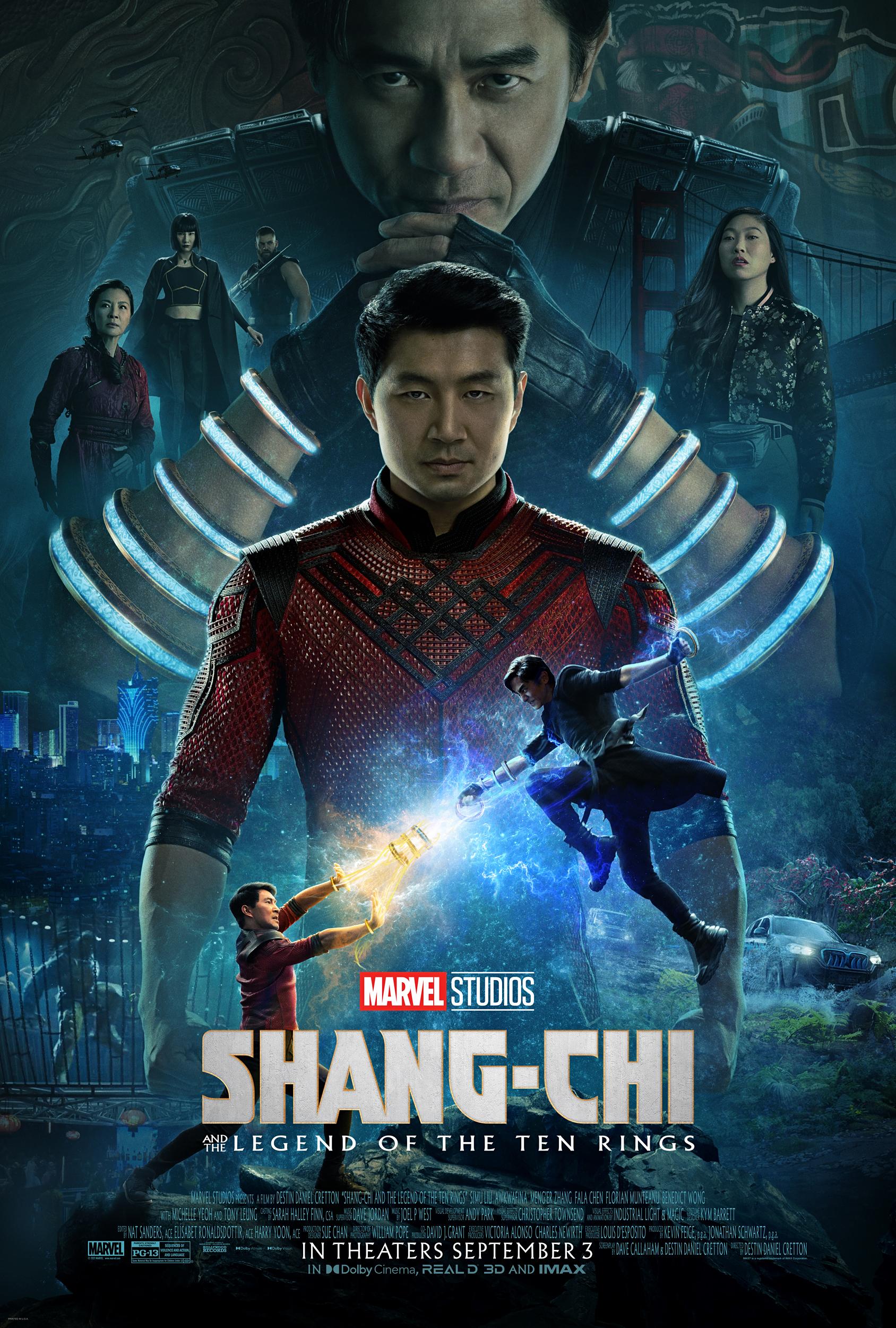 Shang-Chi e La Leggenda dei Dieci Anelli 2021 Streaming (ITA) ALTADEFINIZIONE
