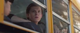 Parker viendo la nave
