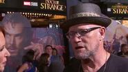 Yondu Talks Time Travel at Marvel's Doctor Strange Red Carpet Premiere