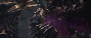 Brunnhilde destruye a un Leviatán