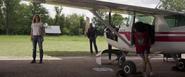 Carol Danvers & Nick Fury (Louisiana)